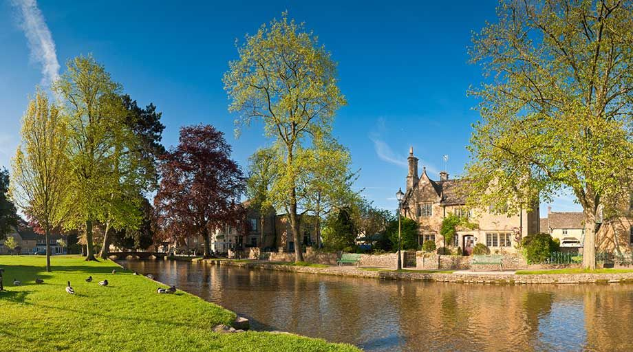 Airport Transfers from Bourton-on-the-Water, Wiltshire.