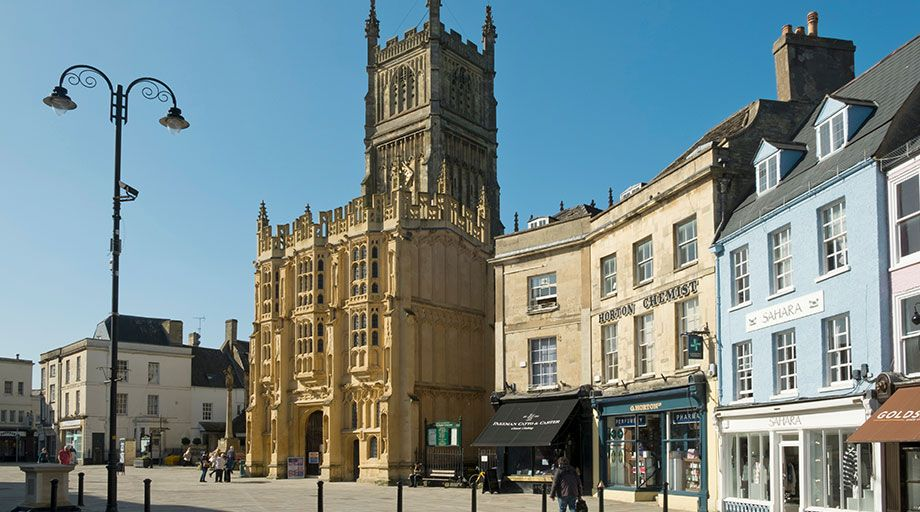 Airport Transfers from Cirencester, Wiltshire.